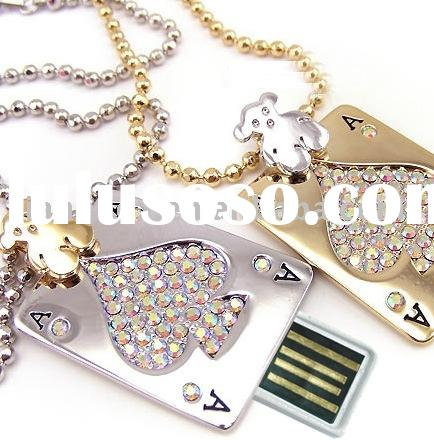 Poker USB, Playing card USB, jewellery USB, Crystal USB, USB Flash Drive, USB Flash Disk, USB drive,