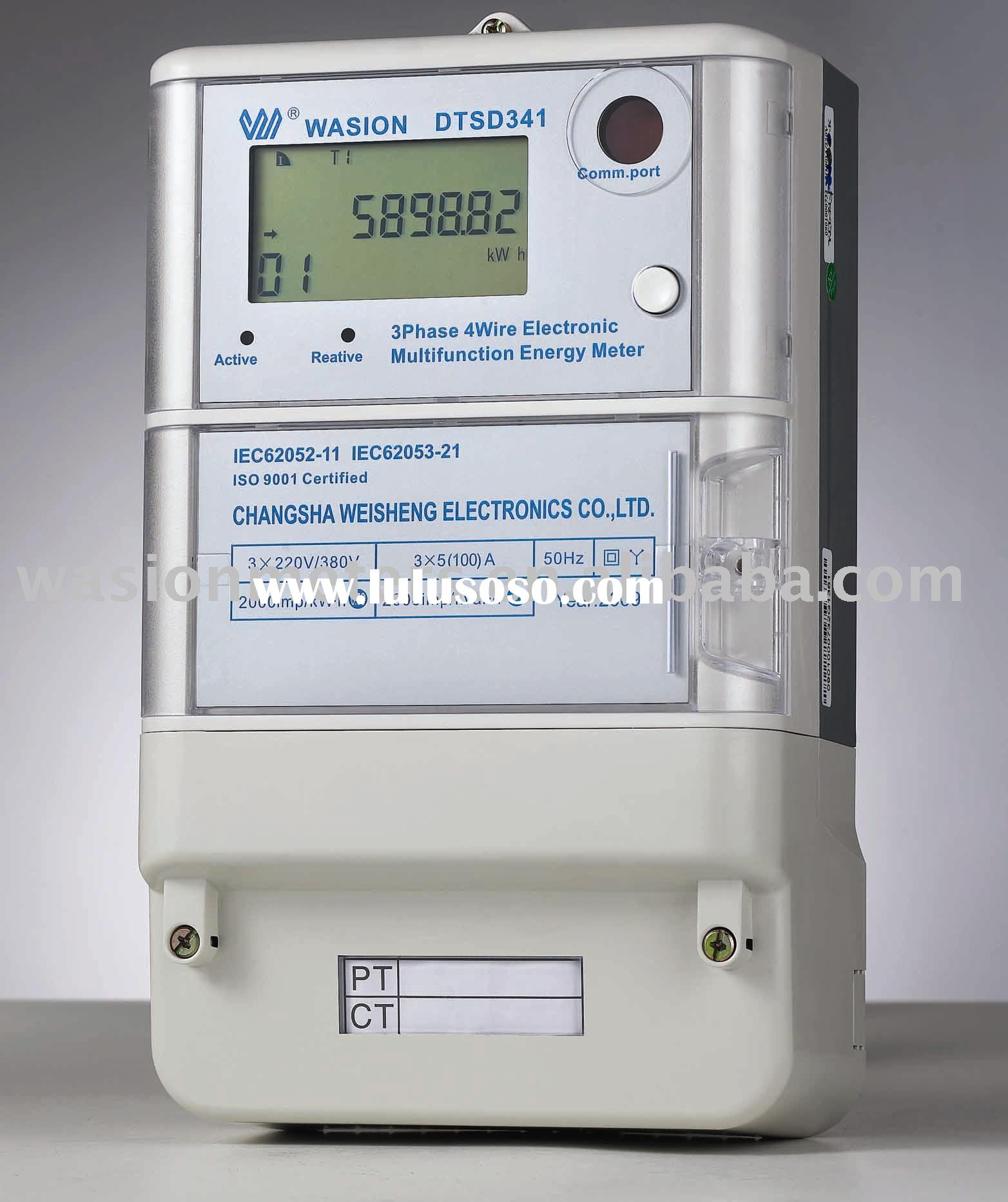 Poly-phase Electronic Prepayment Energy Meter
