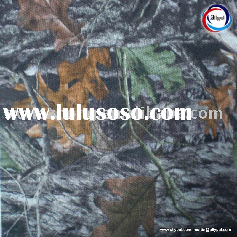 Polyester camouflage fabric for tent (forest printed)