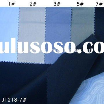 Polyester clothing fabric