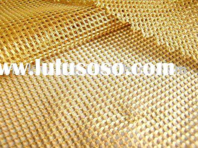 Polyester warp-knitted tricot mesh fabric for lining