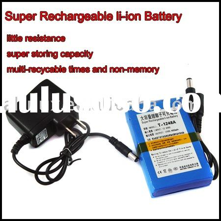 Portable 12V li-ion Rechargeable Battery Pack 4800mAh MB6