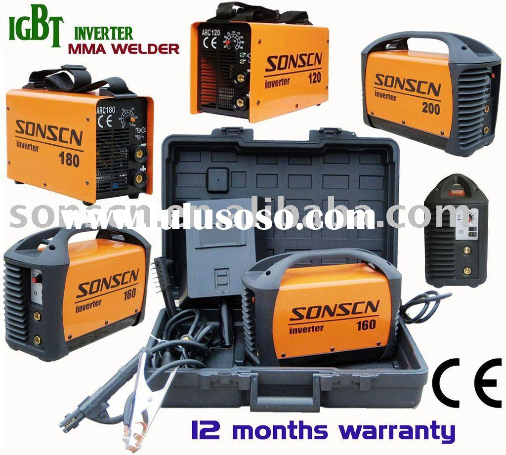 Portable DC inverter arc welding machine