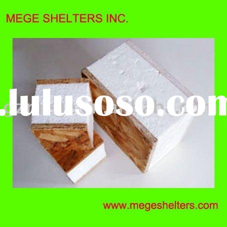 Prefab House panels -- Structural Insulated Panel (SIP)