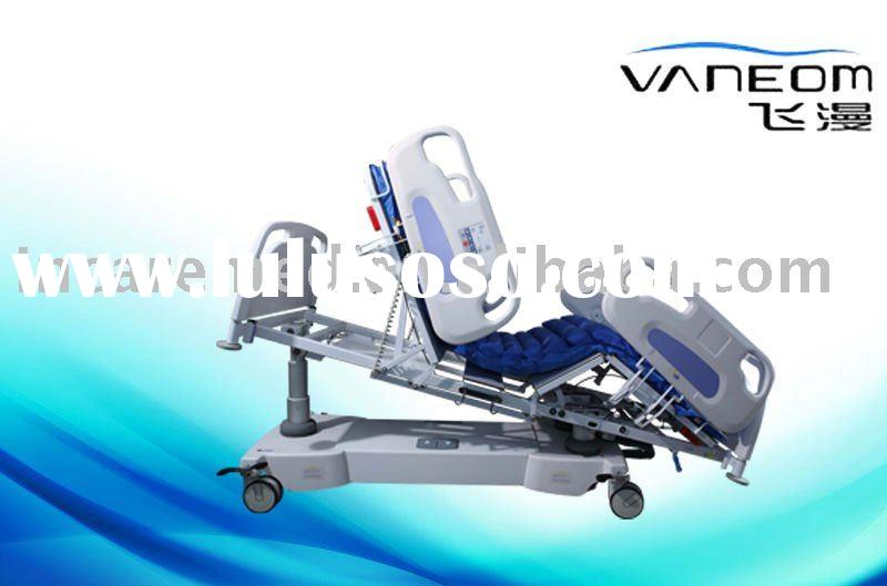 Professional Lateral tilt and precise weighing hospital bed with one-key position