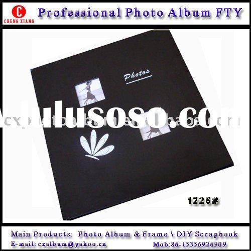Professional wooden Photo Album supplier 12*12