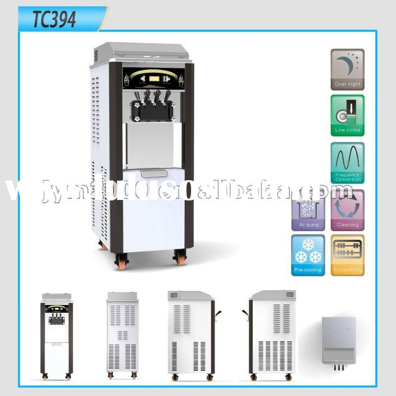 Quality Airpump and Pre-cooling Soft Ice Cream Machine