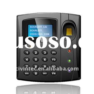 RFID & Biometric Access Control Time Attendance with LCD & keypad and function keys