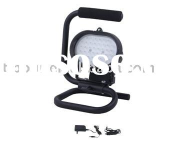 Rechargeable LED Portable Flood Light with AC/DC Adaptor and car plug