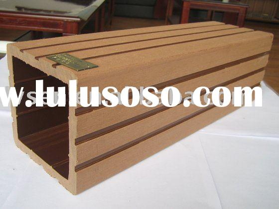 Recycling outdoor wpc railing,wood plastic composite