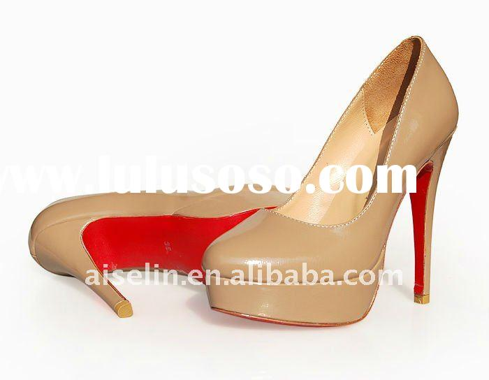 Red sole wedding shoe high heel in 2012