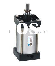 SC Series Standard Pneumatic Cylinder/Double Action Air Cylinder/Double-shaft and Adjustable Stroke