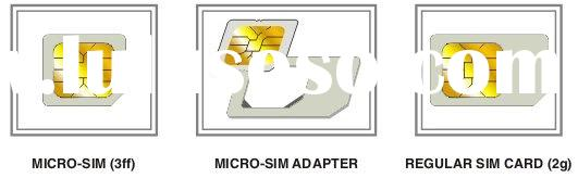 SIM Card Adapter for Micro SIM Card for iPhone 4