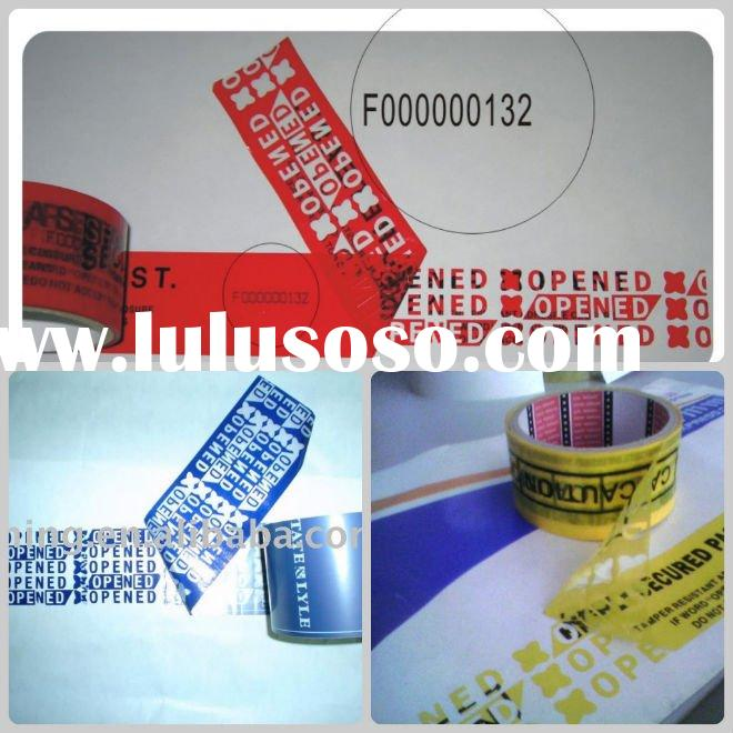 Self-adhesive Security Seal Tape( PET materials)--VOID