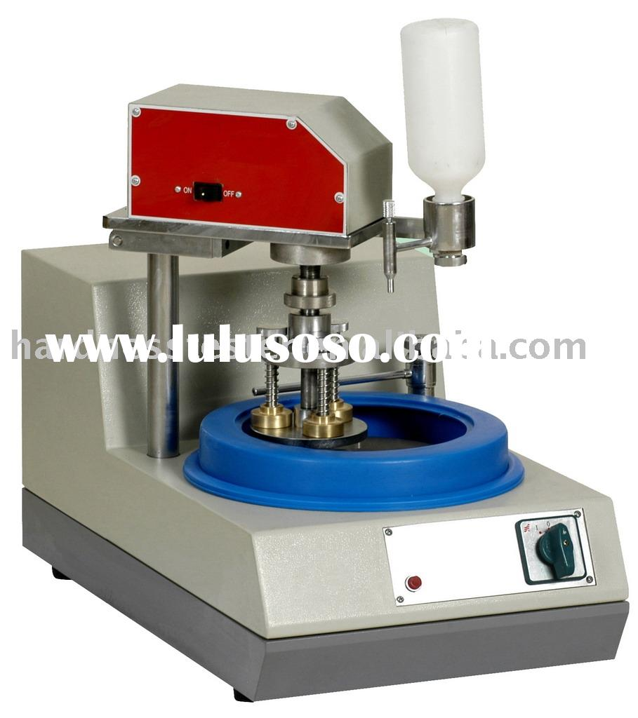 Single disc Stepless Speed Metallurgical Specimen Preparation Grinder/polisher MP-1S with polishing