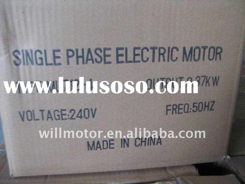 Single-phase Elektro motor (MY Series Aluminum Housing Single-phase Capacitor-run Induction Motor)