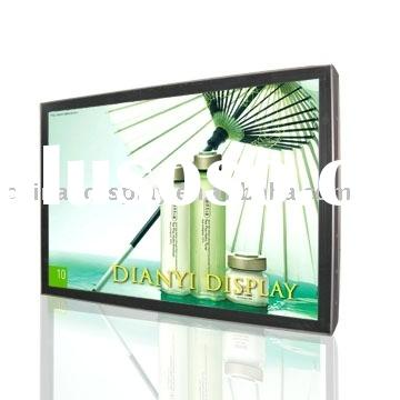 Single-sided Scrolling Light Box for display