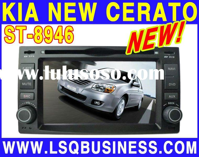 Special audi car dvd player for New Cerato with GPS/V-CDC/RDS/IPOD/TV tuner/Radio/TV tuner