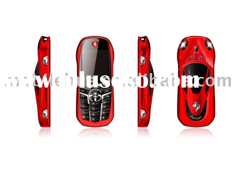 Sports Car shape cell phone with multi-function for children