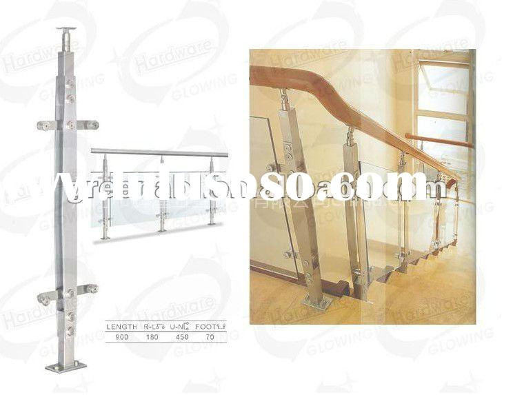 Stainless steel balustrade balcony railing designs DD074