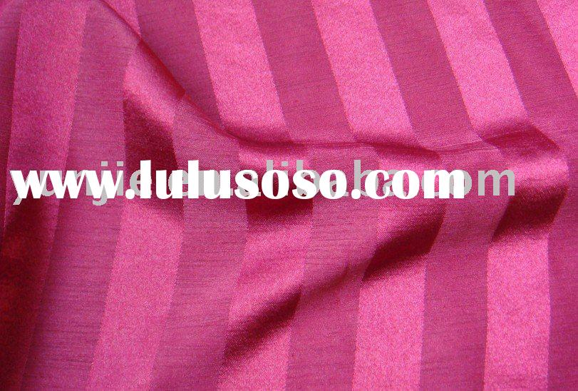 Stripe Satin Fabric/Jacquard Curtain Fabric