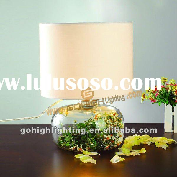 Study room table lamp TL5028 Clear glass