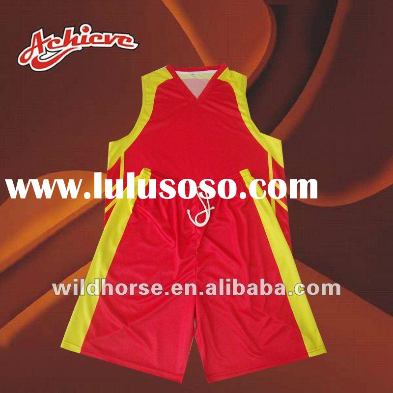 Sublimated custom basketball uniforms