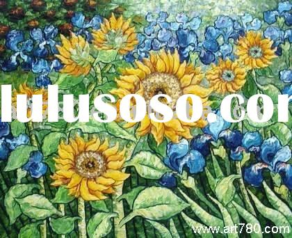 Sun Flower ,Van Gogh reproduction painting