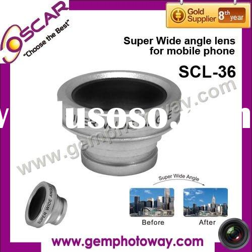 Super Wide angle lens mobile phone accesssory lens for mobile phone mobil phone optical lens