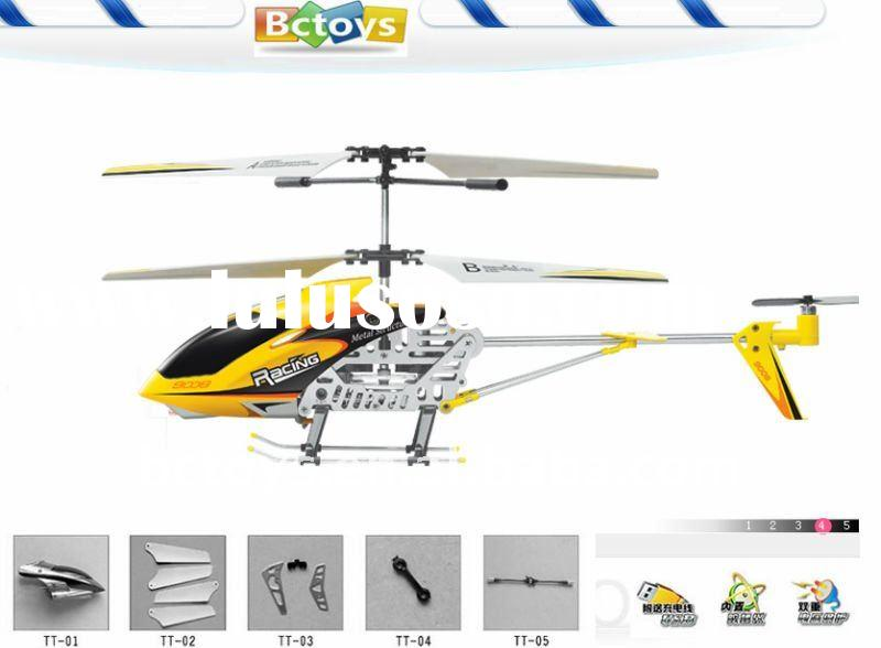 Super big size remote control alloy helicopter kit with gyro