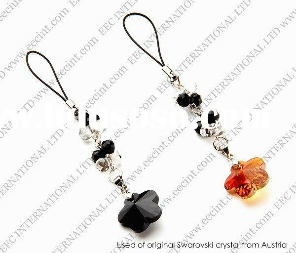 Swarovsky elements, Swarovski elements crystal beads Mobile phone Charms, crystal jewellery EAS01063