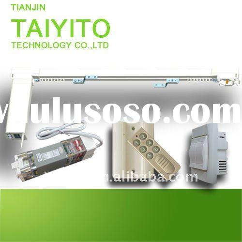 TAIYITO home automation flat-open electric curtain,used for windows rooms