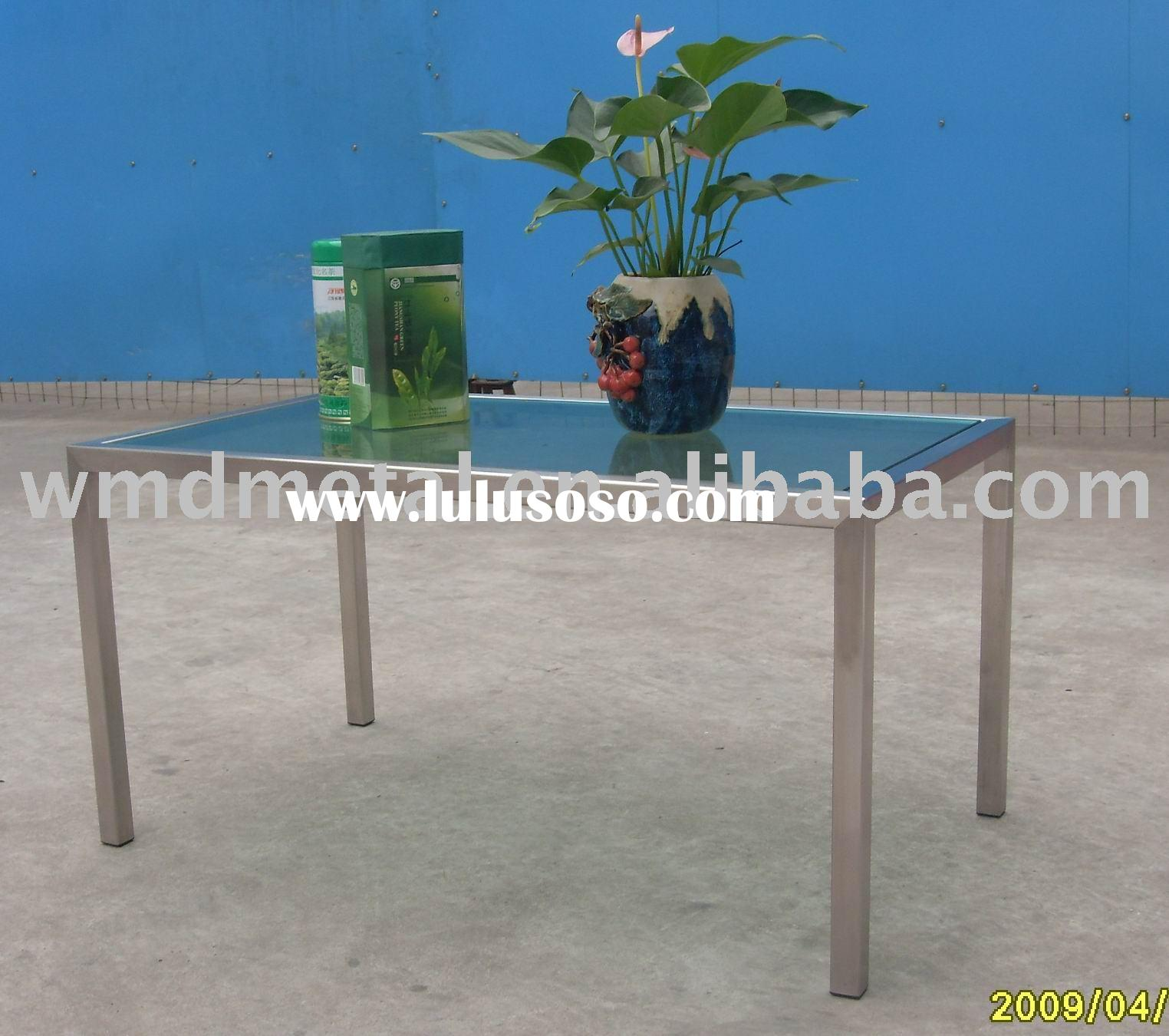 T-D-26 stainless steel modern furniture,living room table ,dining table