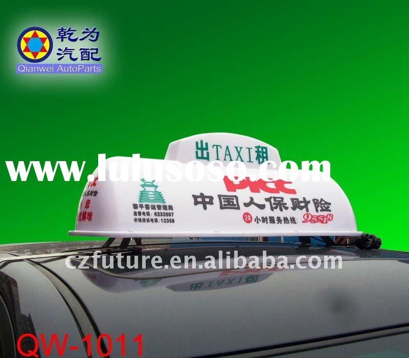 Taxi Tops Advertising Sign Light Box