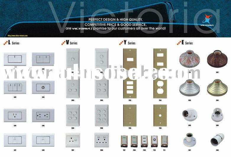 The latest 2011 BS or US standard Wall Switch