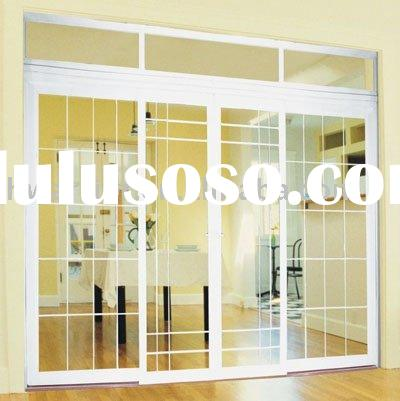 Jn148 thermal break sliding door with blinds between glass for Thermal windows prices