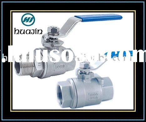 Threaded Stainless Steel Ball Valve Factory