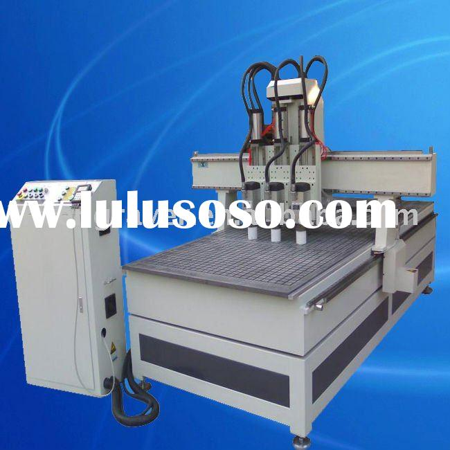 Three-spindles Wood CNC Router Furniture Making Machine TSW1325