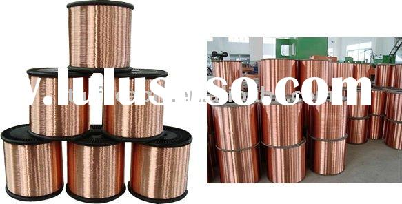 Top quality bare conductor Copper flat wire