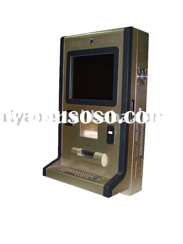 Touch screen Wall-mounted payment kiosk
