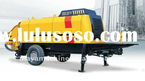 Trailer-Mounted Concrete Pumps (High-speed Railway Construction)