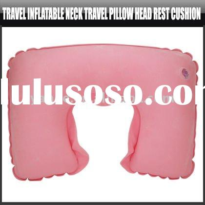 Travel Inflatable Neck Travel Pillow Head Rest Cushion,YFK131A