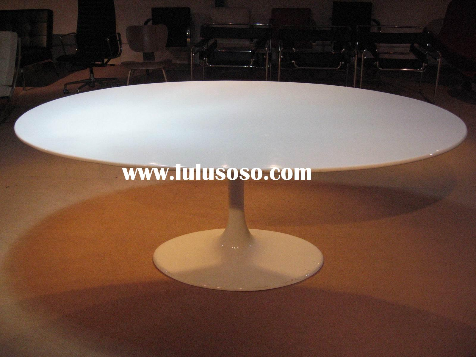 Tulip Oval Dining Table/ KT209