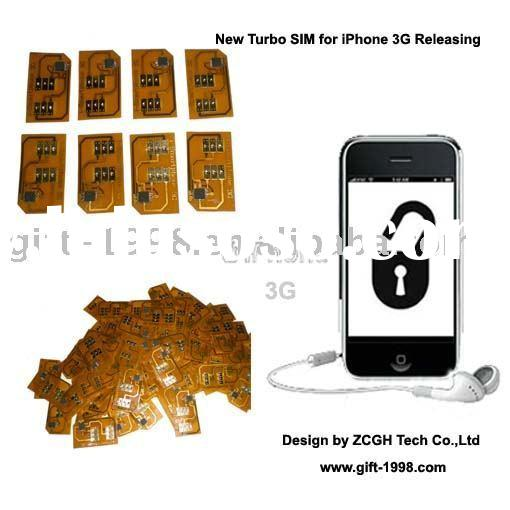 Turbo X-sim card for Iphone 3gs