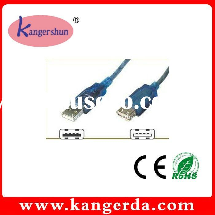 USB CABLE (2.0 A MALE TO A FEMALE CABLE)