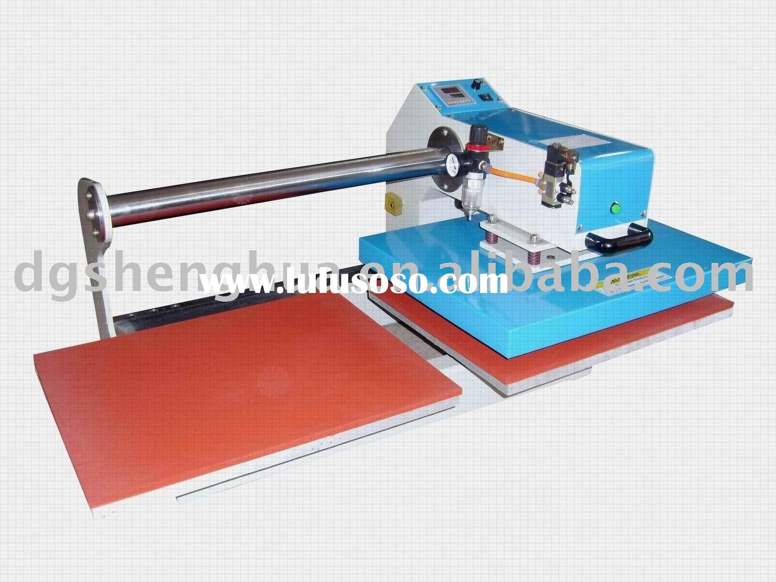 Up Gliding pneumatic double tables heat transfer equipment ,heat transfer printing machines