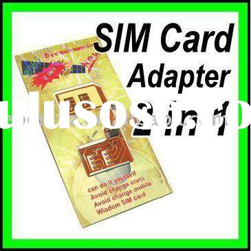 Use Two Sim Cards in One Phone Dual Sim Card Holder