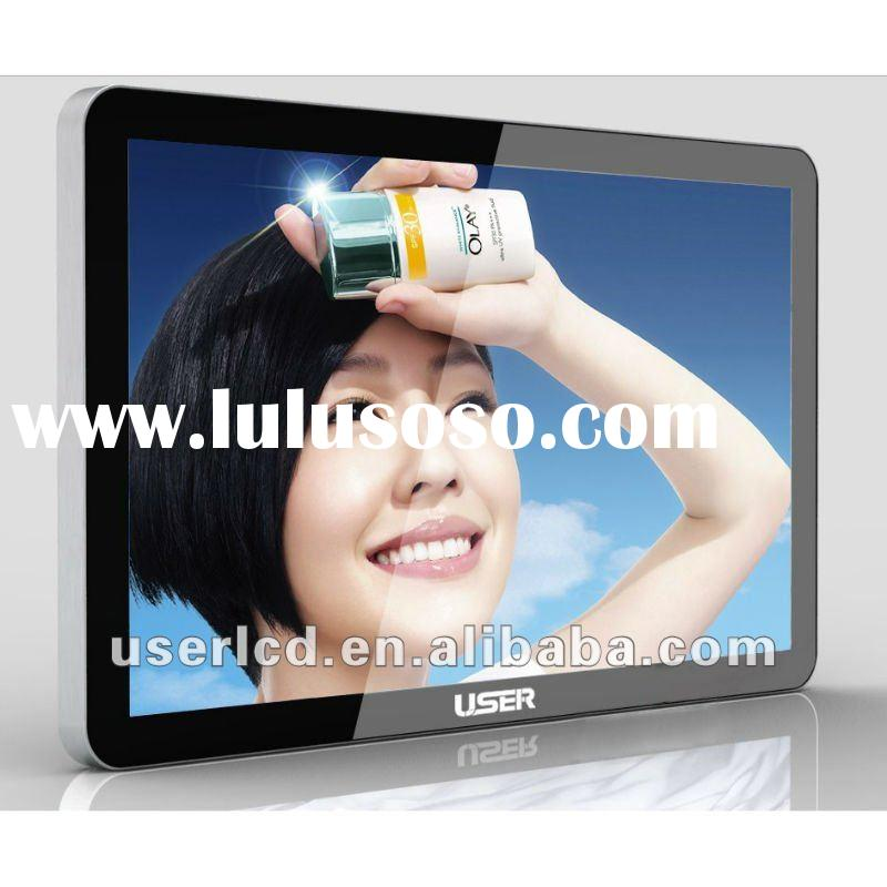 Wall-mount 37 inch LCD Advertising Player, LED backlight, Super Slim