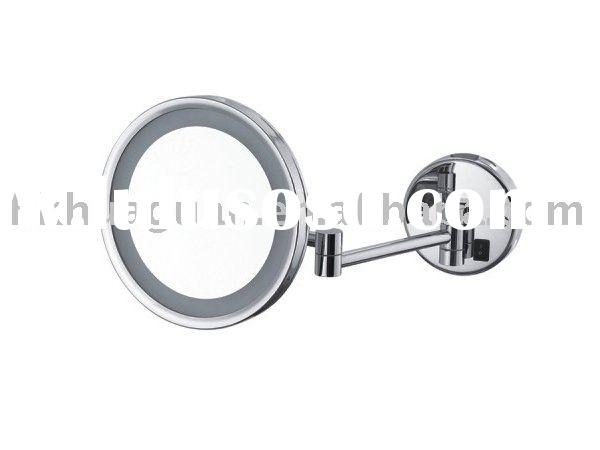 Wall mounted Magnifying mirror with LED