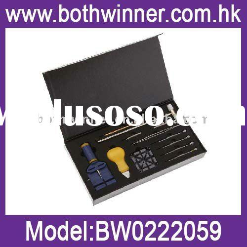 Watch repair tool kit with band link remover